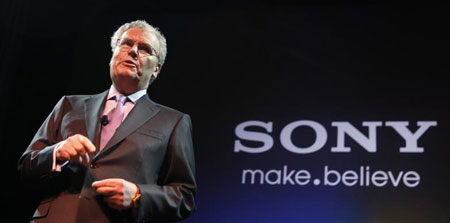 Howard Stringer CEO de Sony