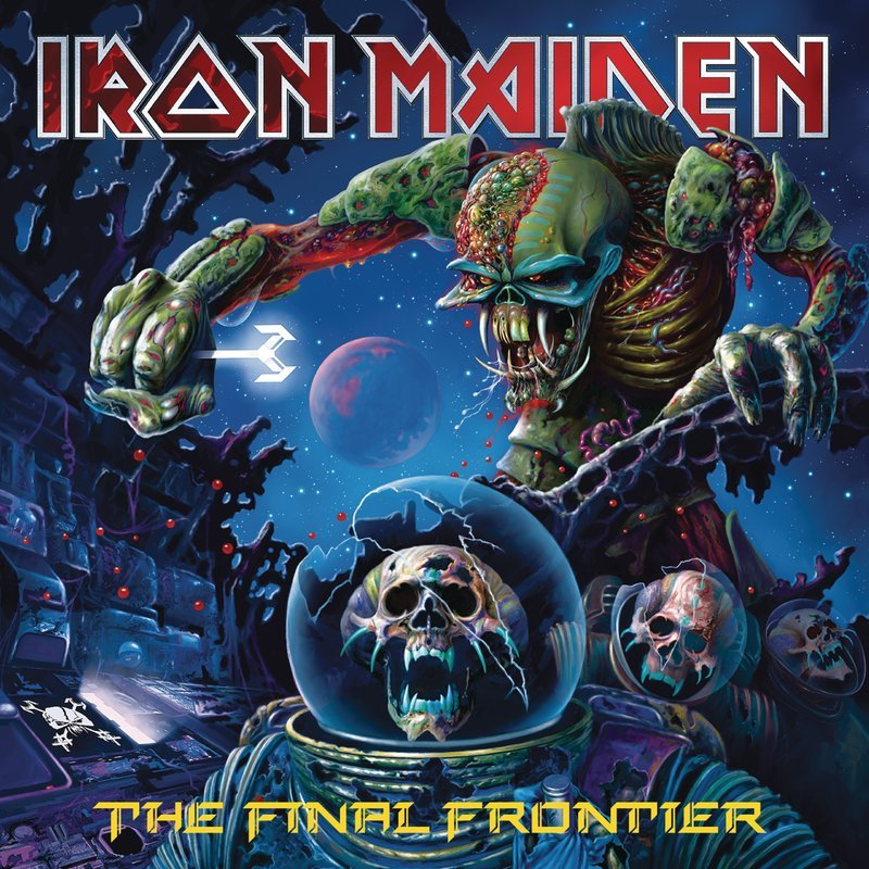 Eddie - Iron Maiden - The Final Frontier - DiscoAzul.com