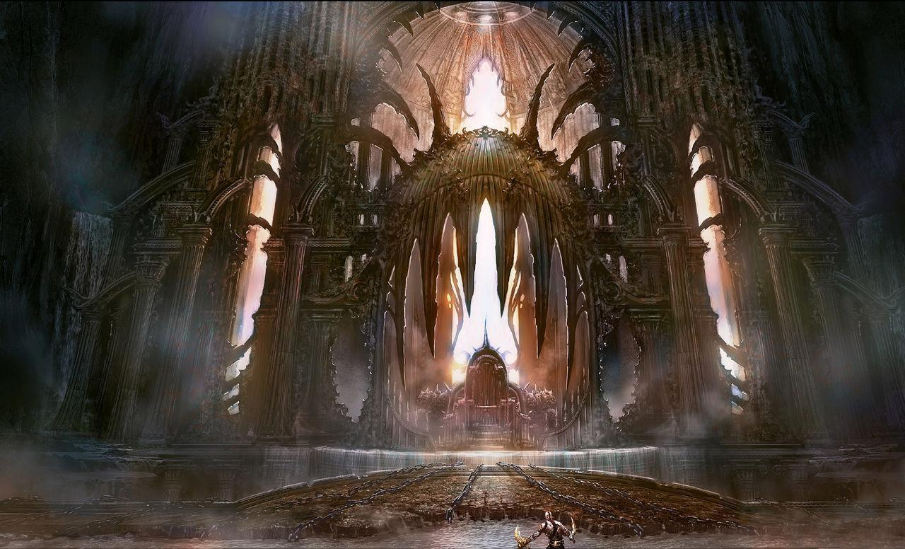 Review god of war iii planetadejuego for God of war 3 jardines del olimpo